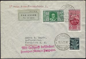 1927 Posta aerea