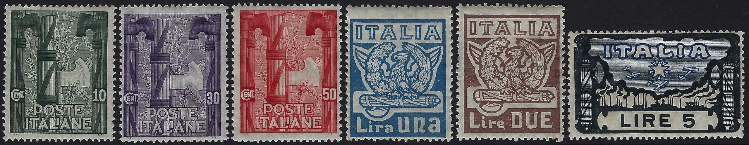 1923 Marcia su Roma MNH