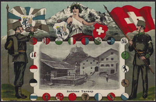 cartolina Svizzera nuova