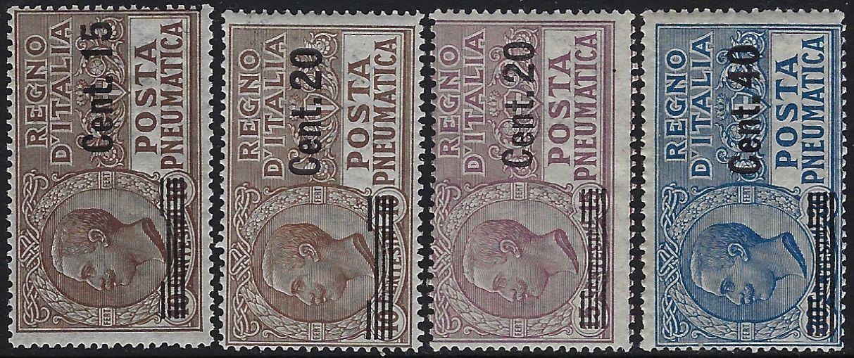 1924/25 Posta Pneumatica MNH