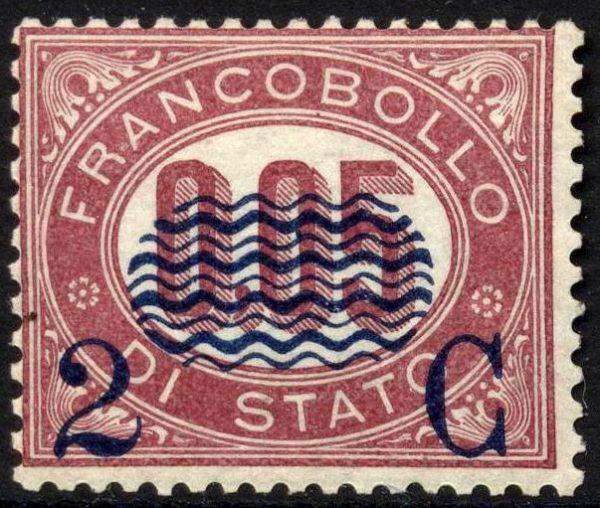 1879 sovrastampati