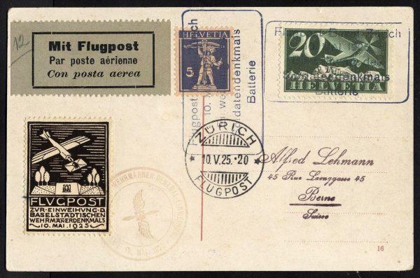 1925 Basilea Zurigo
