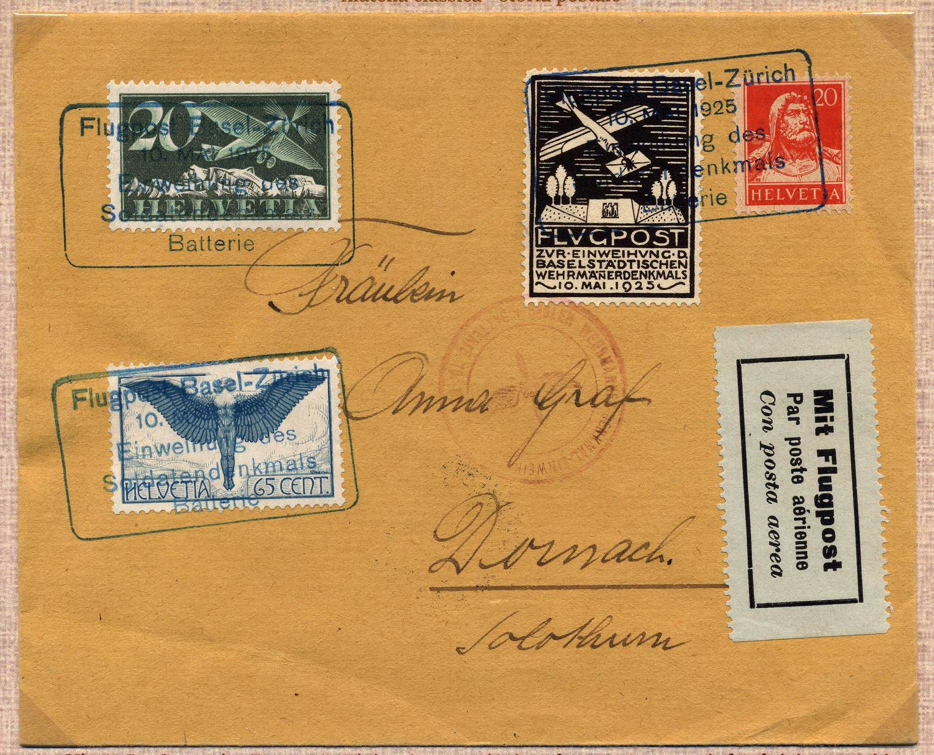 1925 Basilea-Zurigo