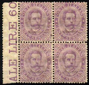 1889 cent.60 Umberto