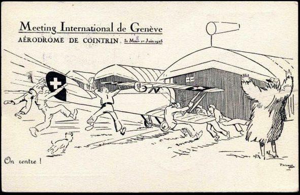 1925 - Servizio Aereo Ginevra-Parigi