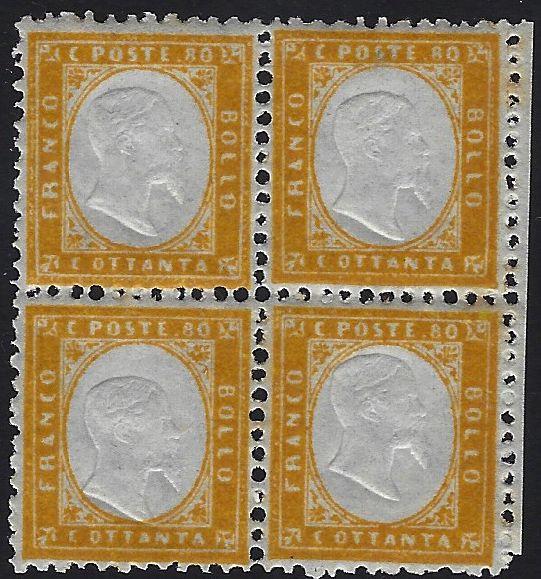 1862 80 cent.