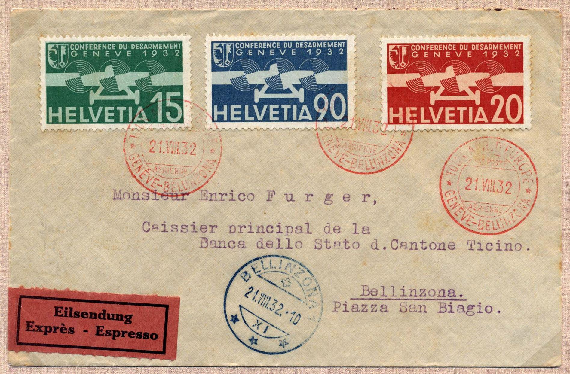 1932 Circuito Aereo d'Europa