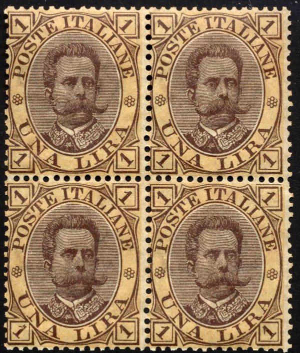 1889 lire 1 umberto