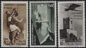 1934 Mondiali di Calcio - MNH