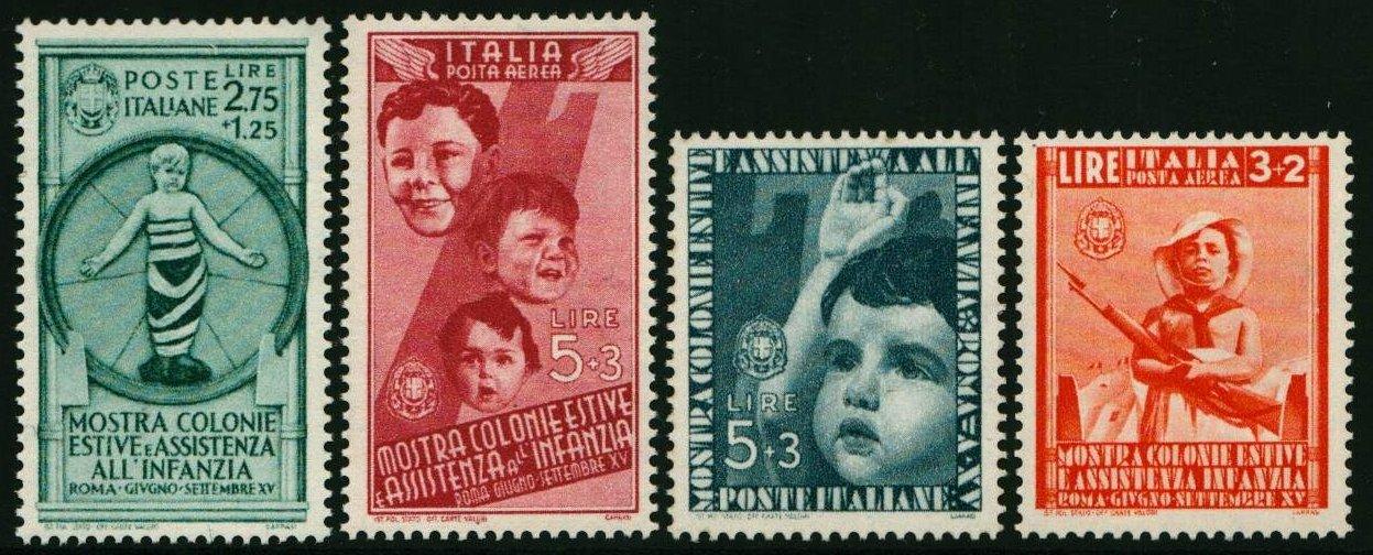 1937 Colonie Estive MNH