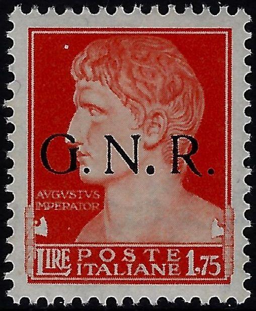 1945 GNR Varietà MNH - Avanzo