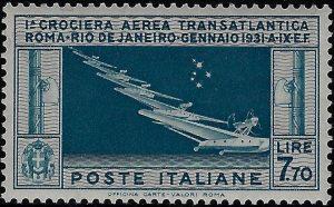 1930 Lire 7,70 - MNH - Bolaffi