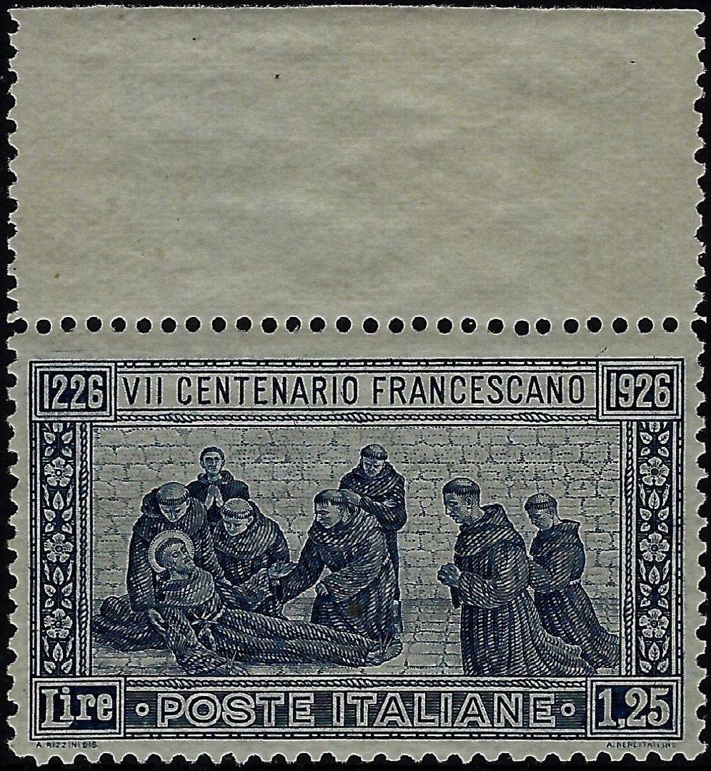 1926 San Francesco - MNH - Chiavarello