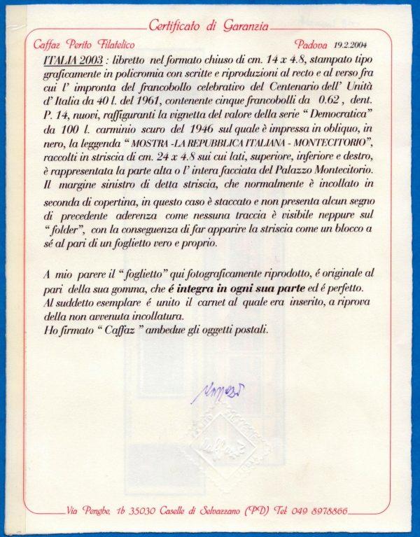 Montecitorio varietà Caffaz