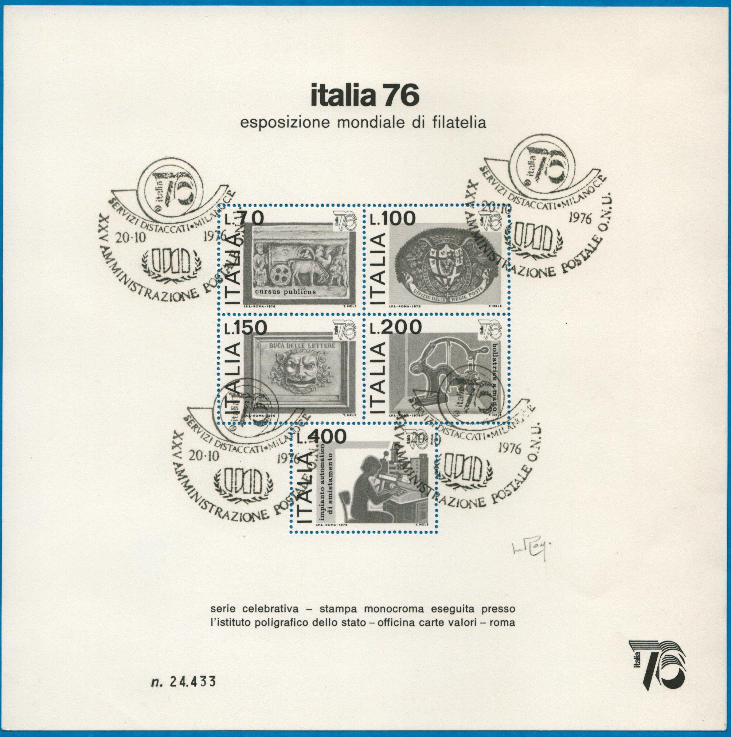 Italia 76 usato Raybaudi