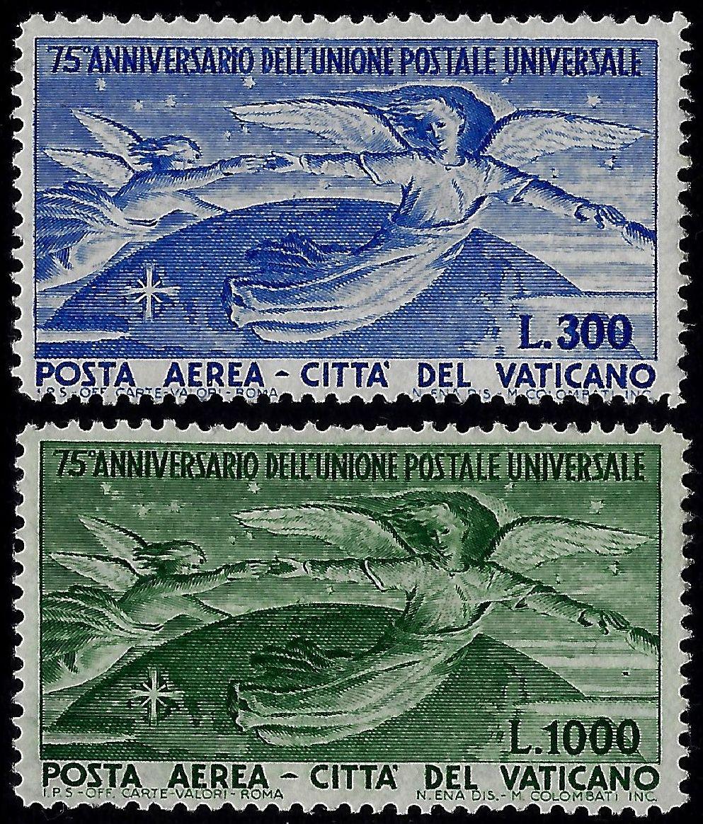 Vaticano Posta Aerea UPU