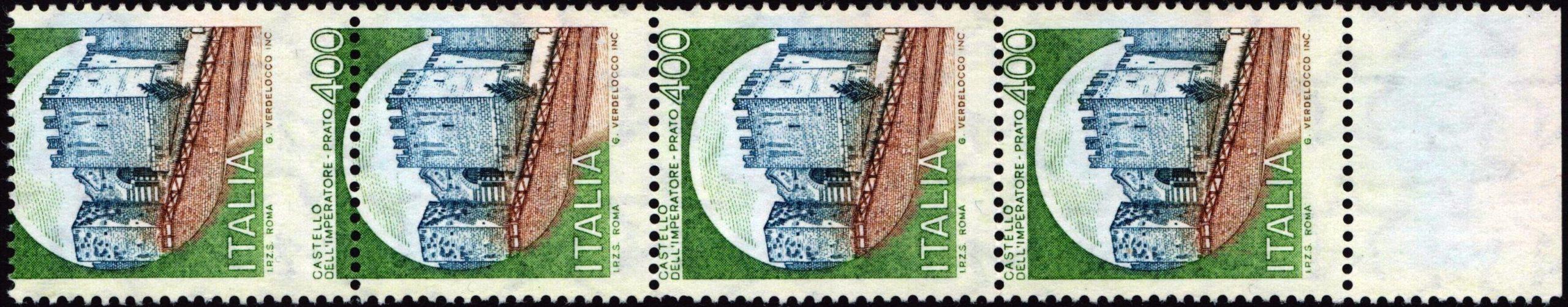Lire 400 Castello di Prato - Varietà