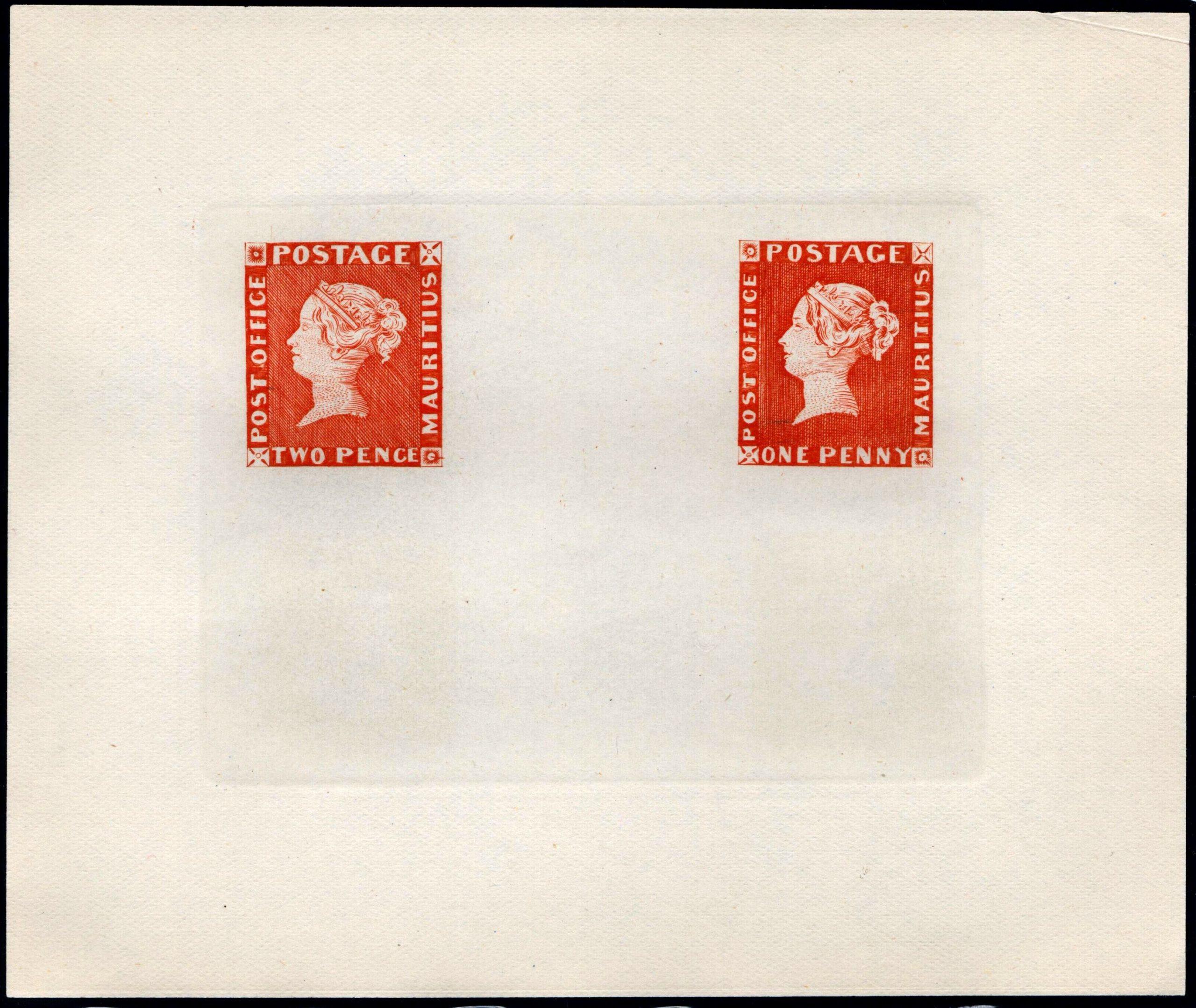 "1912 Mauritius ""Post Office"""