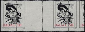 1976 Marinetti Lire 150 varietà