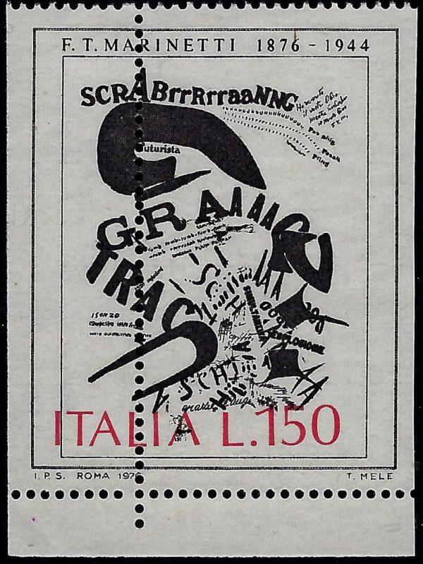 1976 Lire 150 Marinetti varietà