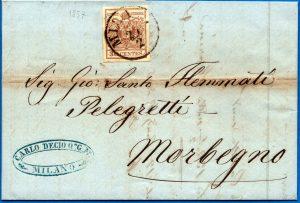1857 - Lombardo Veneto