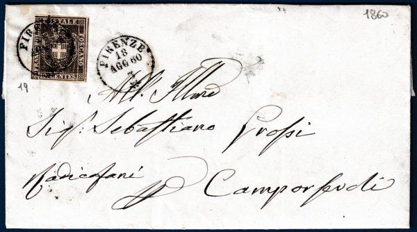 1860 - Toscana Governo Provvisorio