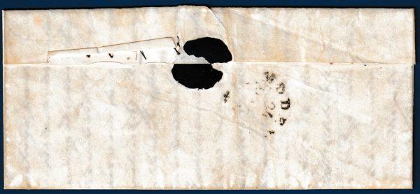 1953 - Toscana - Lettera con affrancatura multipla