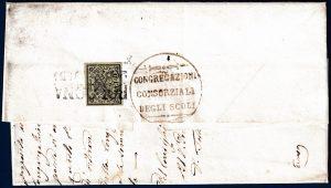 1854 - Pontificio - Lettera