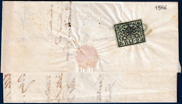 1856 - Lettera Stato Pontificio