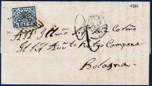 1866 - Lettera Stato Pontificio