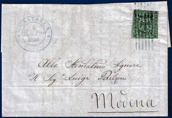 1858 - Lettera da Gustalla