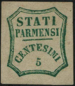 Parma cent.5 Falso De Sperati