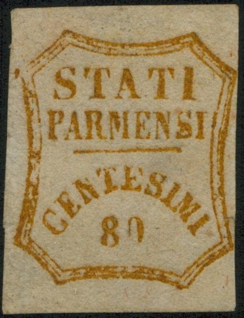 Parma cent.80 Falso De Sperati
