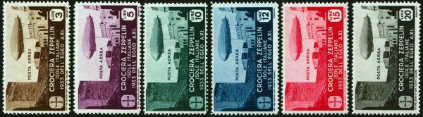 Egeo 1933 Zeppelin - Bolaffi