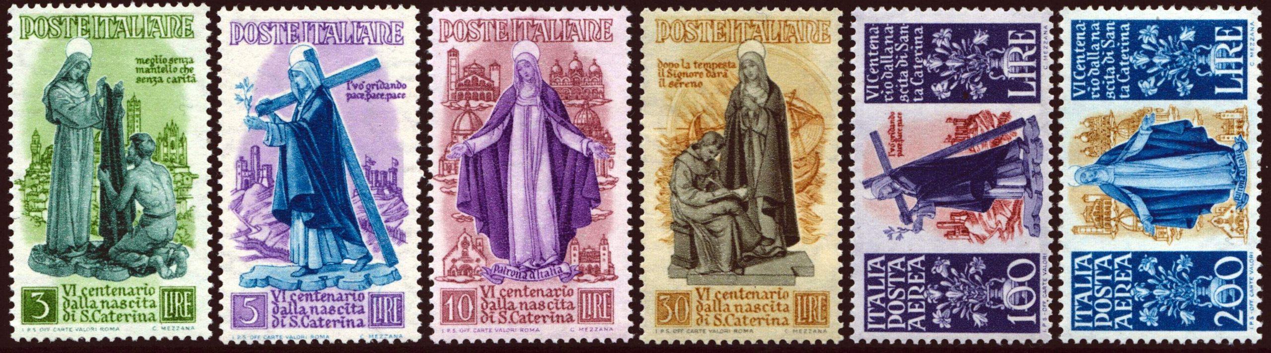 1948 Santa Caterina nuovi MNH