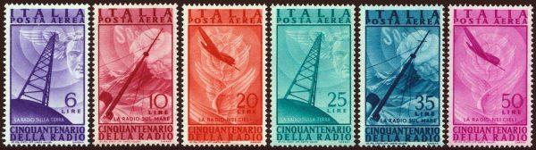 1947 Posta Aerea - Radio - nuova MNH