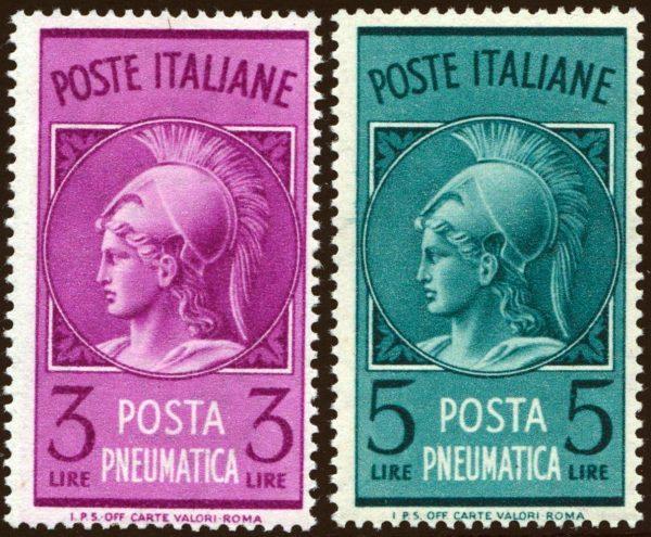 1947 Posta Pneumatica - nuovi MNH