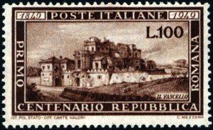 1949 Lire 100 Romana nuova MNH