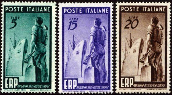 1949 ERP nuovi MNH