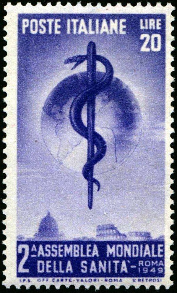 1949 Lire 20 Sanità nuovo MNH
