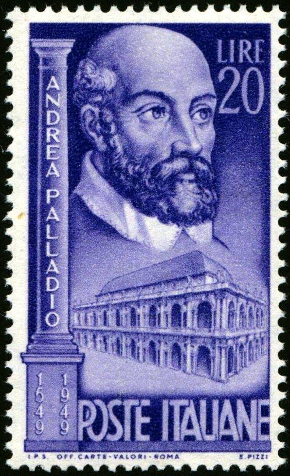 1949 Palladio Lire 20 MNH