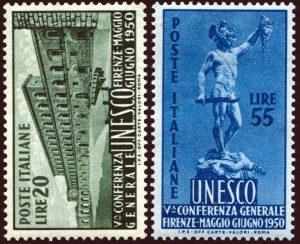 1950 Unesco - nuovi MNH