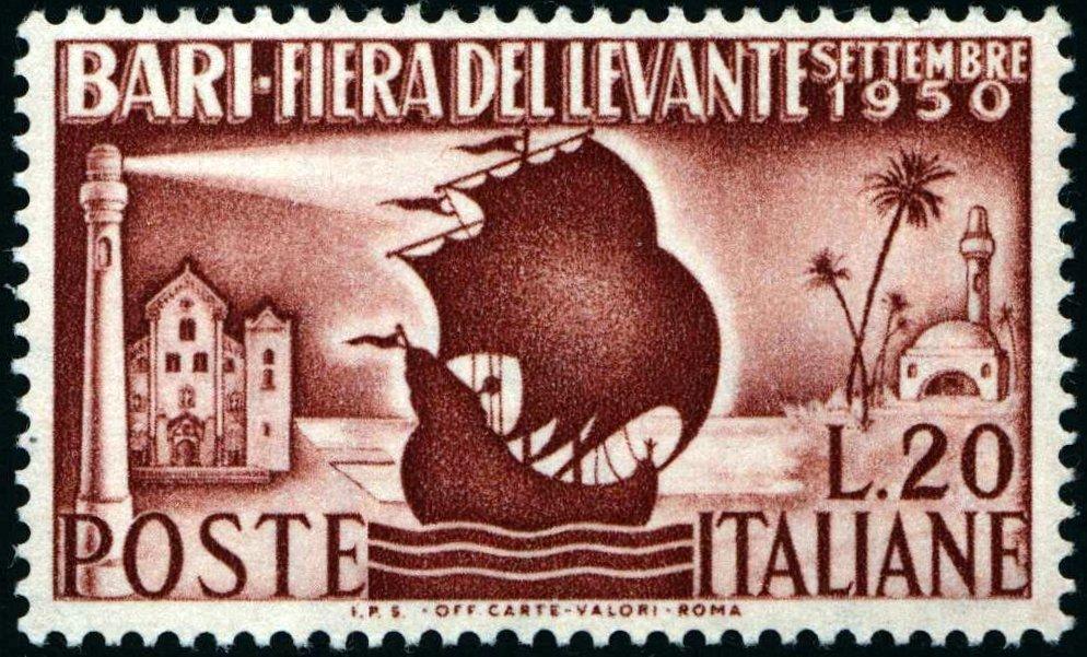 1950 Fiera di Bari MNH