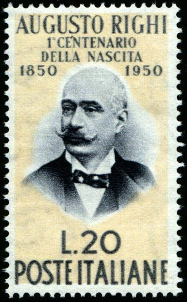 1950 Augusto Righi nuovo MNH