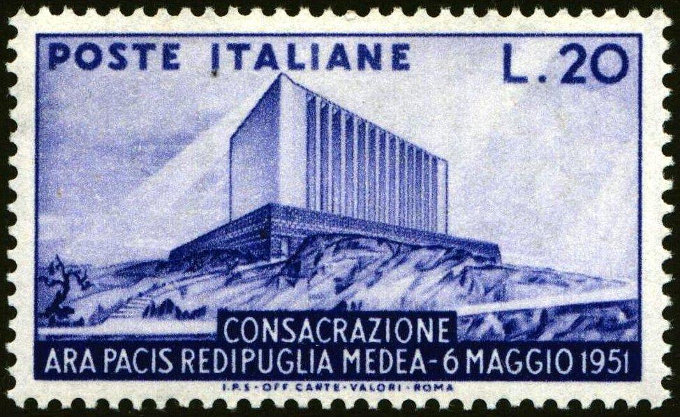 1951 Ara Pacis nuovo MNH