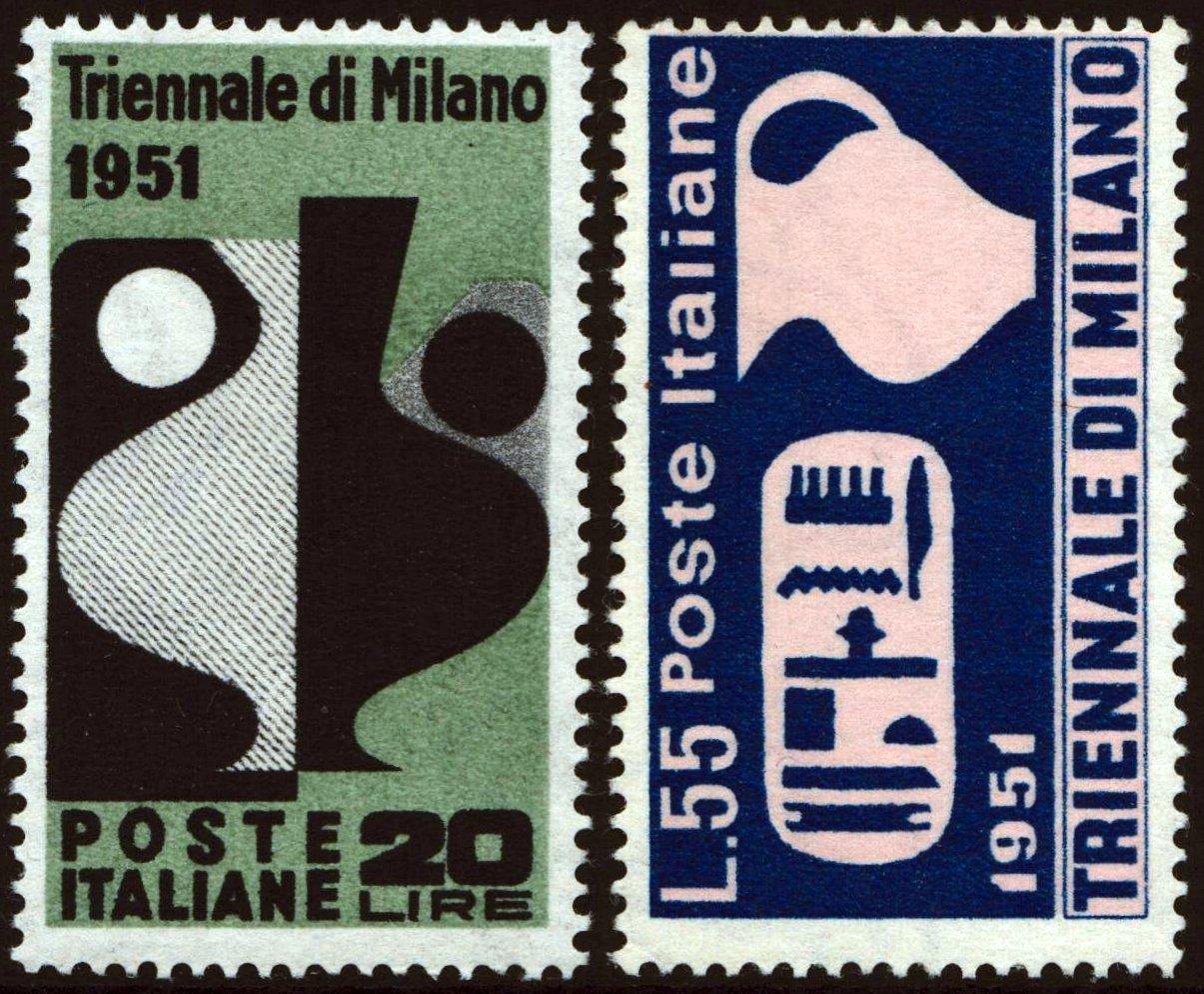 1951 Triennale - nuovi MNH