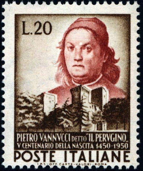 1951 Il Perugino nuovo MNH