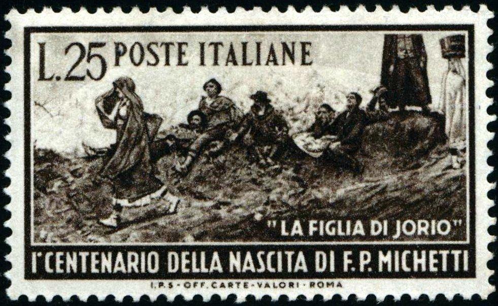 1951 Michetti nuovo MNH