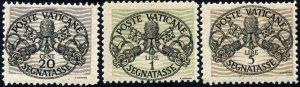 1946 segnatasse carta grigia Carraro