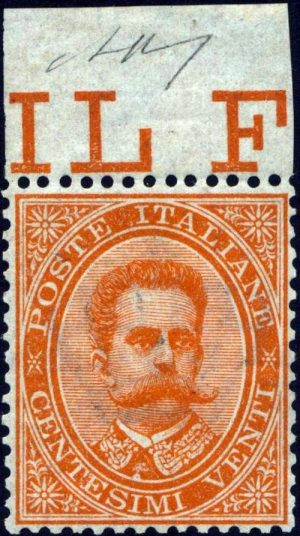 1879 Umberto I cent.20 - Carraro